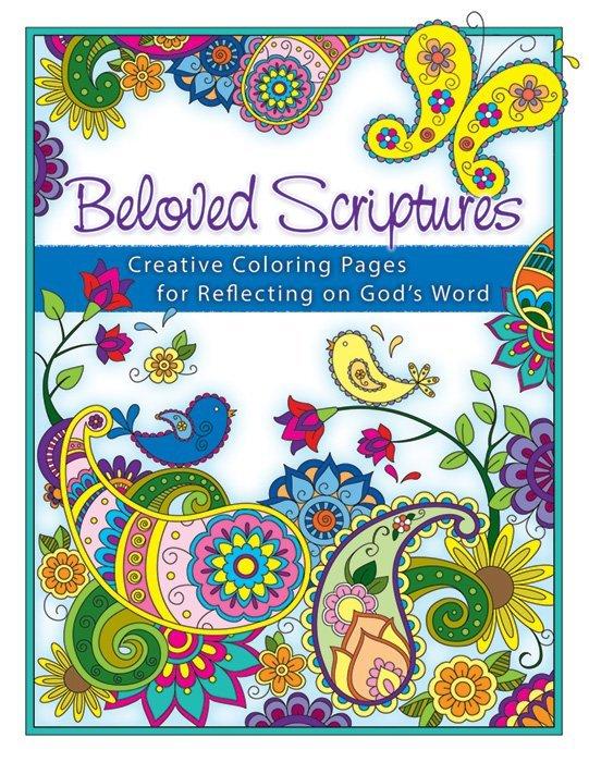 Beloved Scriptures Creative Coloring Pages For Reflecting On God Warner Press