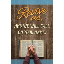 Bulletin Revival Revive Us And We Will Call On Your