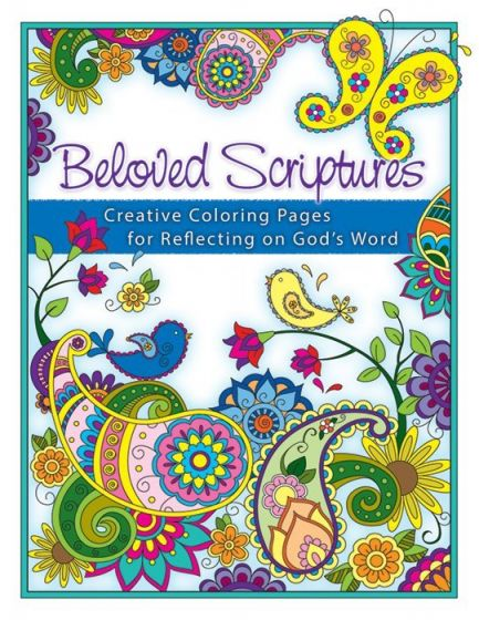 Beloved Scriptures: Creative Coloring Pages for Reflecting on God