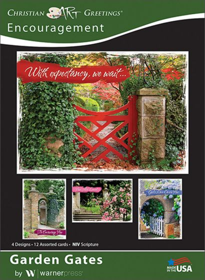 Boxed greeting cards encouragement garden gates warner press garden gates express hope and courage in these encouragement cards each card offers words of support and strength to carry one through open gateways or to m4hsunfo