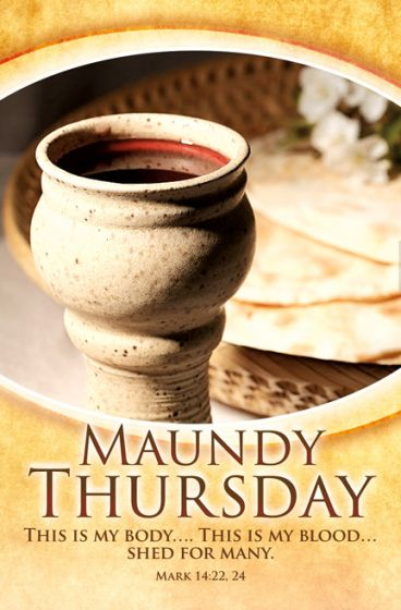 Lent Series - Maundy Thursday - This is my body - Standard ...