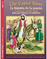 Coloring & Activity Book / (2-5) Easter Story, Bilingual