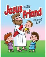 Coloring Activity Book - Jesus Is My Friend - (2-4)