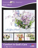 Boxed Greeting Cards - Get Well, Comfort in God's Care