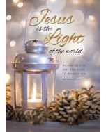 Christmas Boxed Greeting Cards - Solid Pack, Jesus Is the Light