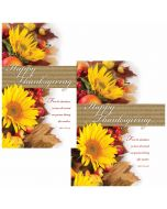 Thanksgiving Bulletin / Happy Thanksgiving  (multiple size options)