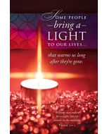 Funeral Bulletin - Some People Bring A Light