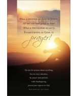 Funeral Bulletin - What a Friend we have in Jesus
