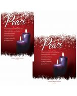 Advent Bulletin / Peace (multiple size options)