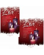Advent Bulletin / Love (multiple size options)