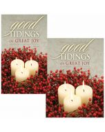 Christmas Bulletin / Good Tidings of Great Joy  (multiple size options)