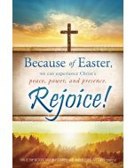 Easter Bulletin - Because ofEaster, 1 John 5:4