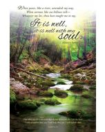 General Worship Bulletin - It Is Well with My Soul