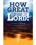 General Worship Bulletin - How great is our Lord!