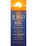 Bookmark - The Lord will be King
