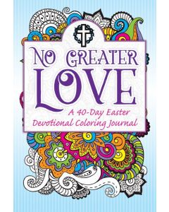 Devotional Coloring - No Greater Love