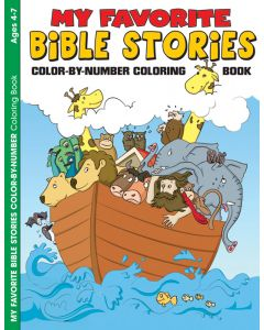 Coloring & Activity Book -  My Favorite Bible Stories