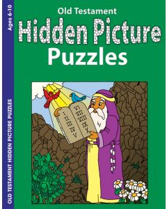 Coloring & Activity Book - Hidden Pictures, Old Testament