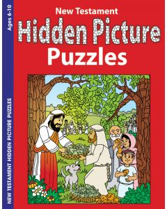 Coloring & Activity Book - Hidden Pictures, New Testament