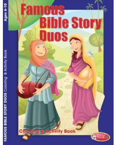 Coloring Activity Book / Famous Bible Story Duos