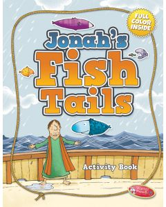 Coloring Activity Book - , Jonah's Fish Tails