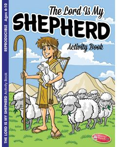Coloring Activity Book - The Lord is My Shepherd