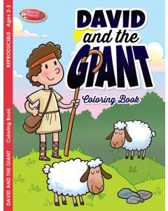 Coloring Activity Book - David and the Giant