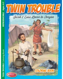 Coloring Activity Book / Twin Trouble