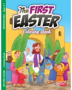 Coloring Activity Book - Easter, The FirstEaster
