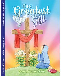 Coloring Activity Book - Easter, The Greatest Gift