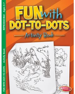 Coloring Activity Book - Fun with Dot-to-Dot