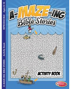 Coloring Activity Book -  A-MAZE-ING Bible Stories