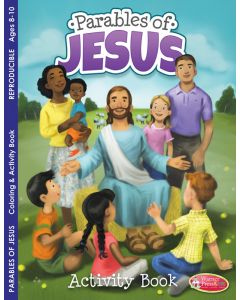 Coloring Activity Book -  Parables of Jesus