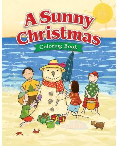 Coloring Activity Book - A Sunny Christmas -