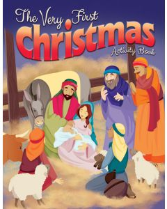 Coloring Activity Book - The Very First Christmas -