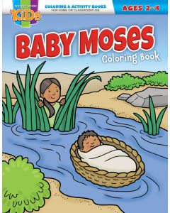 Coloring Activity Books | Baby Moses (2-4)