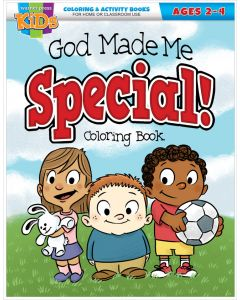 Coloring Activity Books | God Made Me Special (2-4)