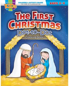 Coloring Activity Books | The First Christmas (2-4)