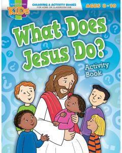 Coloring Activity Books | What Does Jesus Do? (8-10)