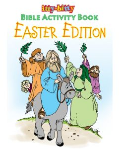 itty-bitty Activity Book -Easter Edition