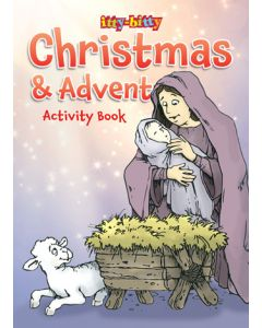 itty-bitty | An itty-bitty Christmas and Advent Activity Book