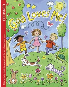 Coloring & Activity Book - God Loves Me