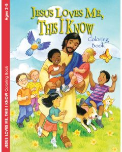 Coloring & Activity Book - Jesus Loves Me, This I Know