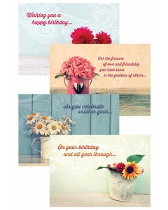 Boxed Greeting Cards - Birthday, Celebrating You