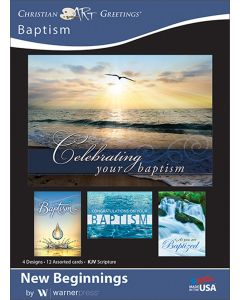 Boxed Greeting Cards - Baptism, New Beginnings