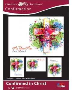 Boxed Greeting Cards - Confirmation, Confirmed in Christ