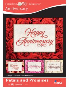 Boxed Card - Anniversary, On Your Anniversary