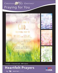 Boxed Greeting Cards - Praying For You, Heartfelt Prayers
