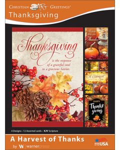 Boxed Cards | Thanksgiving | A Harvest of Thanks