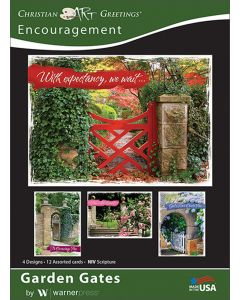 Boxed Greeting Cards - Encouragement, Garden Gates